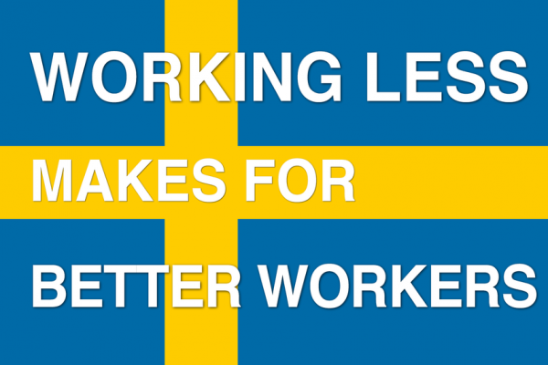working for less makes for better workers